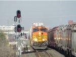 BNSF C44-9W 5123