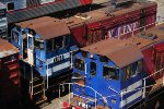 Y-Class Shunters at Melbourne