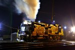 NS SD40-2 #3363 hit of cold start up..