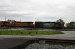Train prepares to depart Barr Yard