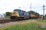 """A CSX southbound is viewed from the """"Hey"""" Zone"""