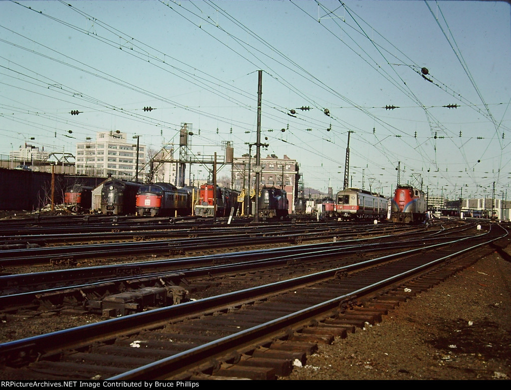 Motor Storage at New Haven in 1976