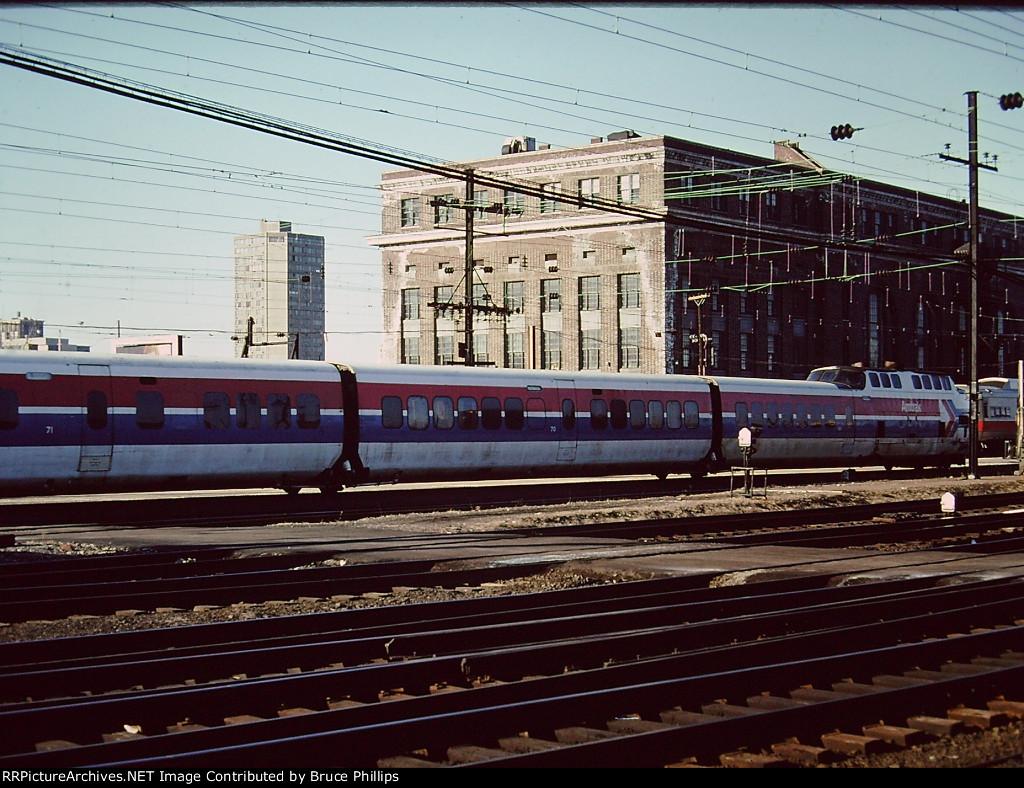 Amtrak TurboTrain - New Haven - 1976