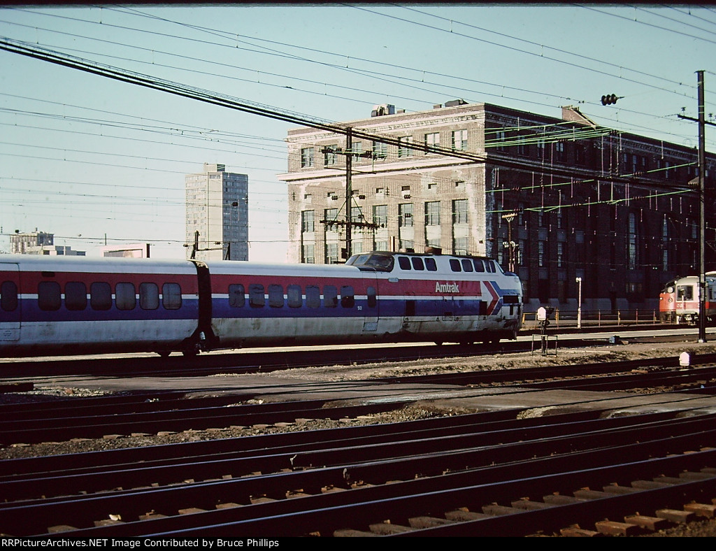 Amtrak TurboTrain - New Haven - 1976