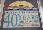 Amtrak 40th Anniversary Mat