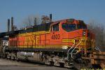 BNSF 4803 brings up rear of NS train 219