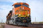 BNSF 6833 waits patiently on Main 3 waiting for a Hot Z9 to pass her at 10:17 am/PST