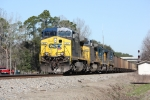 CSX 502 has a funky number board
