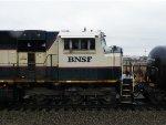 BNSF SD70MAC 9598
