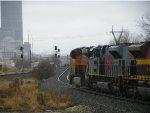 BNSF ES44DC 7903 & CLEAR SIGNAL
