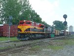 KCS 4114 Westbound