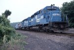 Devault Local with SD40s
