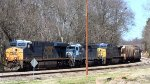 CSX 785 / 223 & HLCX 6211 pulling a mixed freight train SB