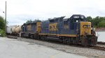 CSX 2316 (Road Slug) & 6939 (SD40-2)