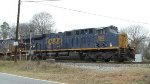 NEW GEVO CSX 962 / ES44AH leading a coal train
