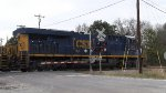 CSX 962 ES44AH at a crossing