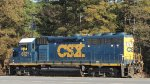 CSX 6121 / GP 40-2 leading with the long hood