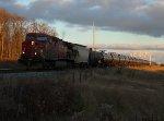 CP 697 departing Wolverton