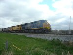 CSX 989 with 3