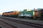 BNSF 3170, 3151 - Malabar switchers