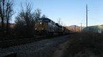CSX 795 Leads a Southbound Coal Train