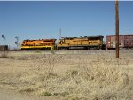 AZER 4000 and 4007 at UP interchange in Bowie, AZ