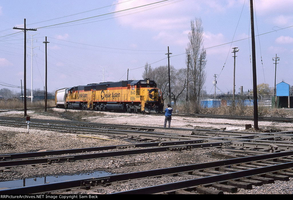 Chessie System SD50s at the Junction