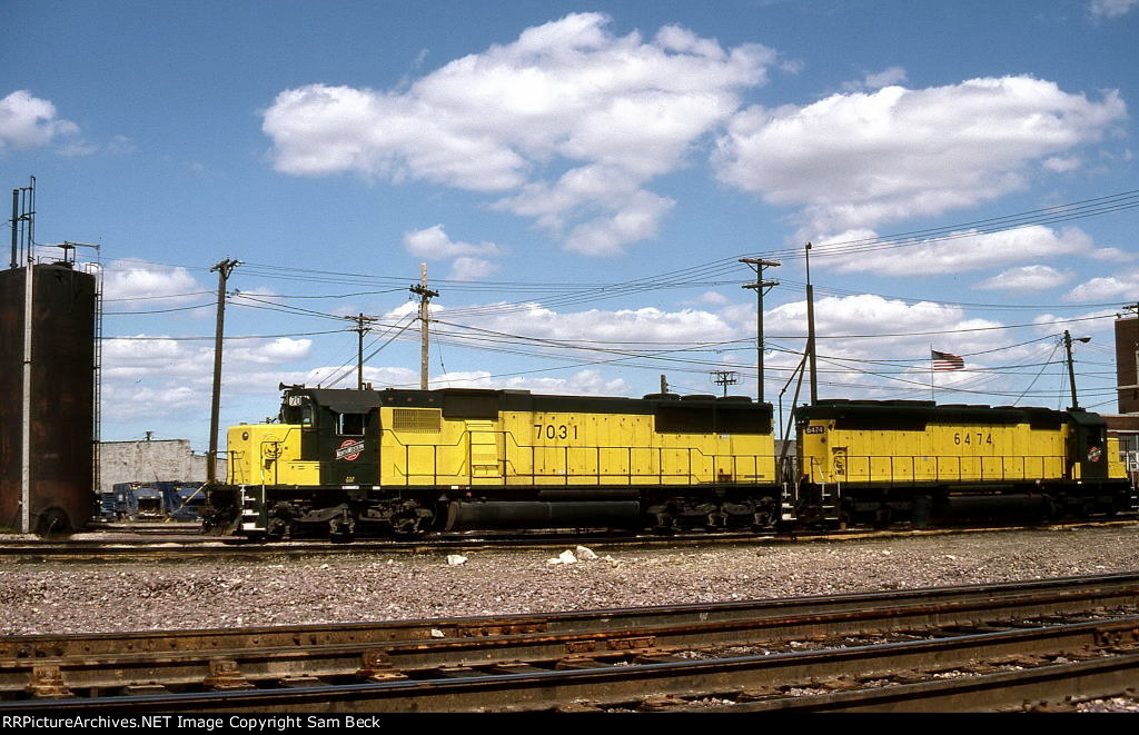 CNW 7031 and 6474