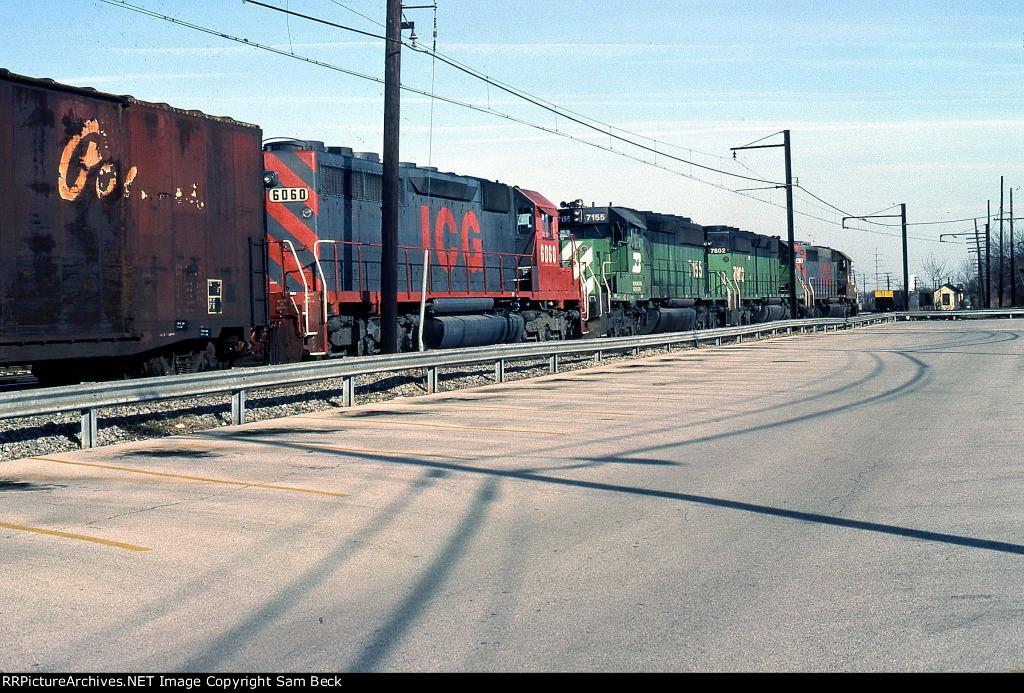 ICG 6060, BN 7155, 7802, and ICG 6043