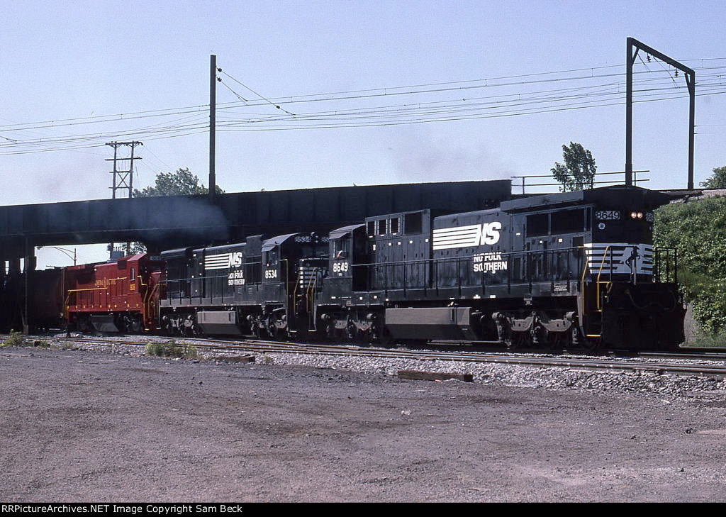 NS 8649, 8534, and GECX 808