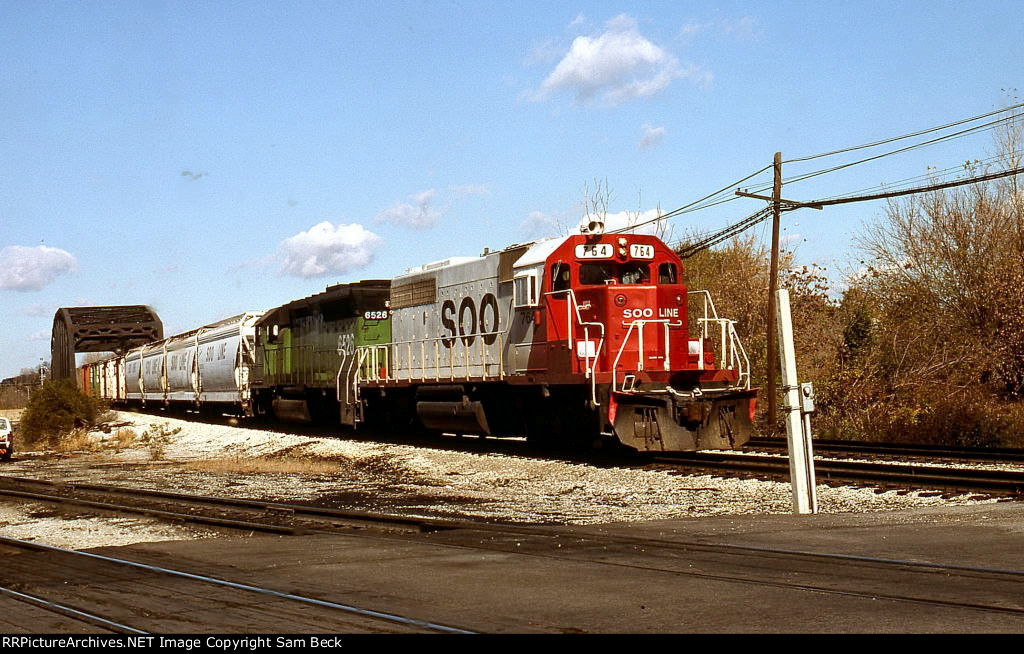SOO 764 and WC 6526