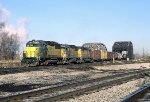 CNW 5099, 5065, and 6829 on the Salad Bowl
