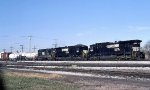 NS 8593, 8619, and NW 528 on CB12