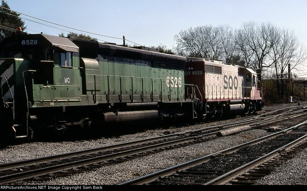 WC 6526 and SOO 764