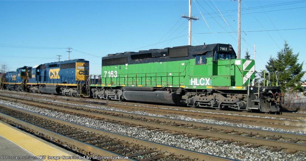 CSX EB Manifest Departs Frontier Yard