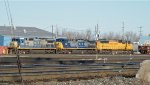 CSX & UP Power in Frontier Yard