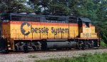 CSXT 6602 on R579 in Chessie paint