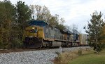 CSX Q282 at South Elmore