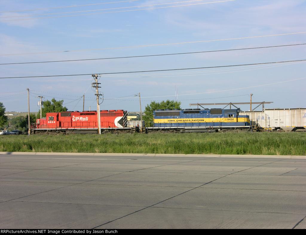 CP 5684 ICE 6454