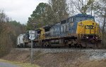 CSX Q520 in the siding