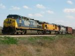 CSX Leading Fake UP and Patched SP North from Oakworth