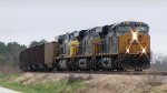 CSX 882 (ES44AC) leading a returning empty coal train
