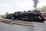 WMSR 734 at Frostburg