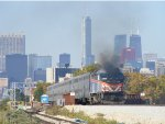 METX 412 heads back into Chicago