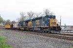 CSX 4026 on Q-418