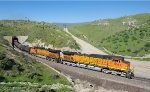 BNSF 5081 exits Tunnel 3 as it heads towards Tehachapi