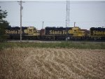 BNSF 2599 and 2617