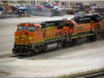 BNSF 504 and 2018
