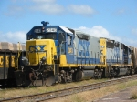 Wildwood Yard's GP38 based Roadmate and GP40 Mother