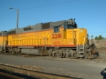 the Kennewick switcher power rests after working